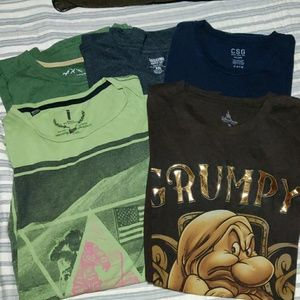 Bundle of 5 Tee Shirts All Size XXL